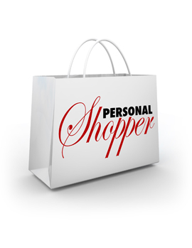 Click here for the Personal Shopping page.