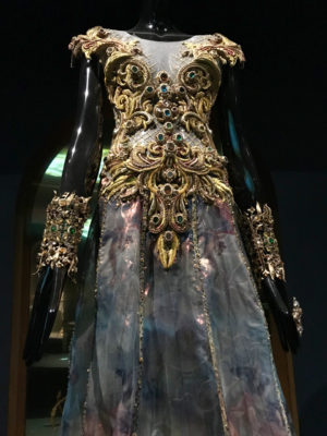 Angel gown with gold Guo Pei
