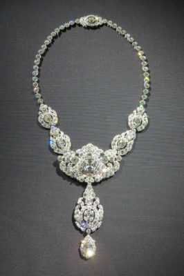 Cartier diamond necklace, Nizam of Hyderabad