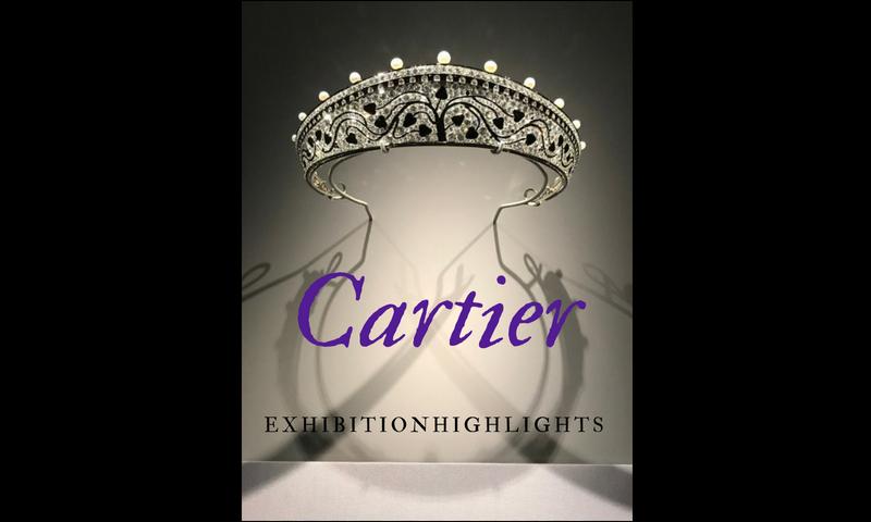 Cartier diamond and onyx tiara 1914