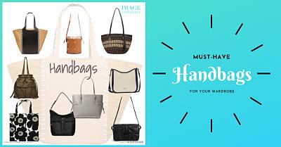 A selection of women's handbags.